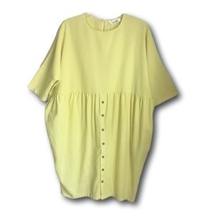 Couer De Vague - Women's Casual Dress Light Yellow